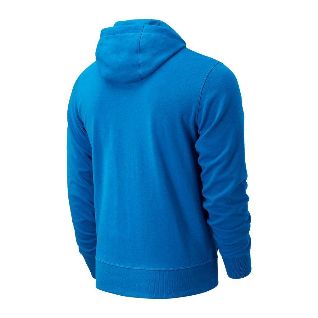 New Balance - Essentials Stacked Logo PO Hoodie - wave blue