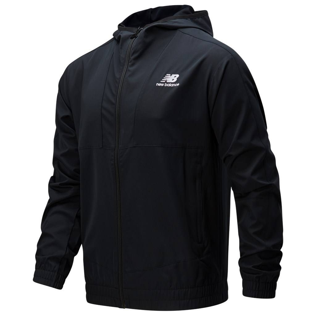 New Balance - NB Athletics Full Zip Windbreaker - black