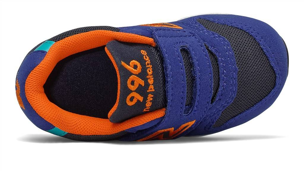 New Balance - IZ996TBU - blue/orange