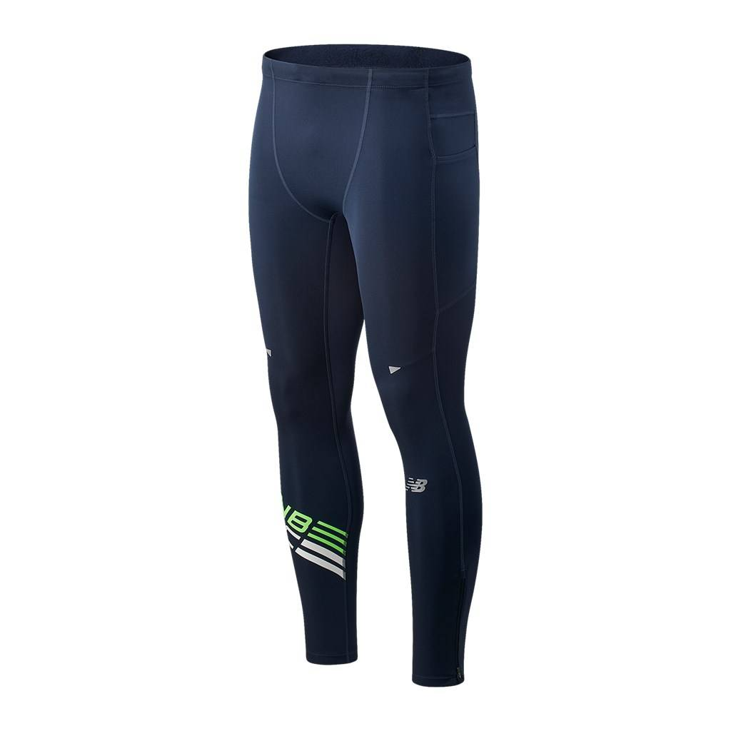 New Balance - Printed Impact Run Tight - energy lime