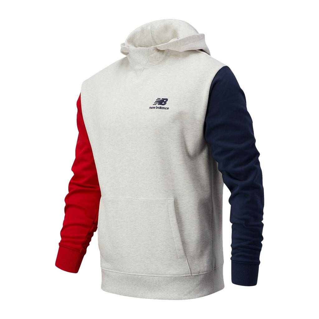 New Balance - NB Athletics Village Fleece Pullover - sea salt heather