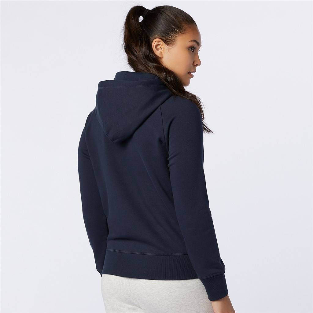New Balance - W Essentials Pullover Hoodie - eclipse