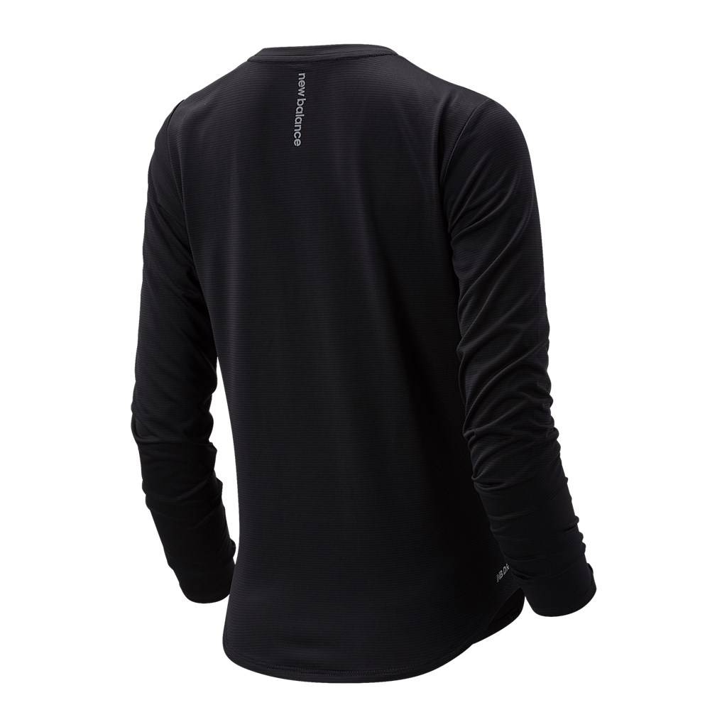 New Balance - W Accelerate Long Sleeve - black