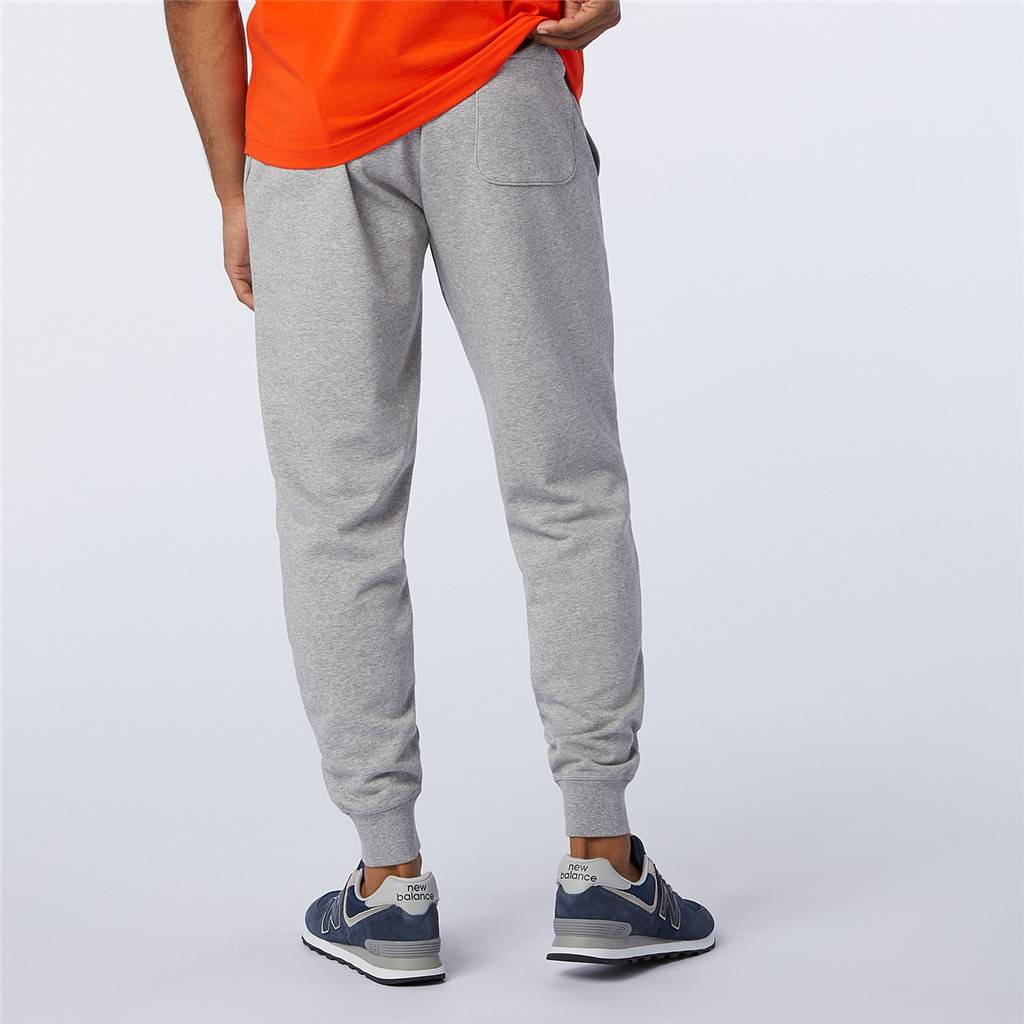 New Balance - Essentials Stacked Logo Sweatpant - athletic grey