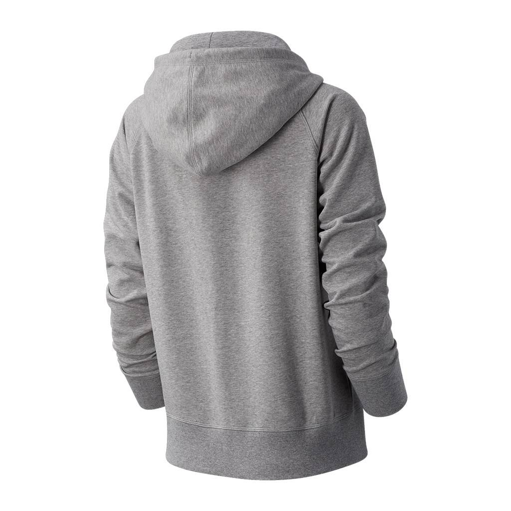 New Balance - W Essentials FZ Hoodie - athletic grey