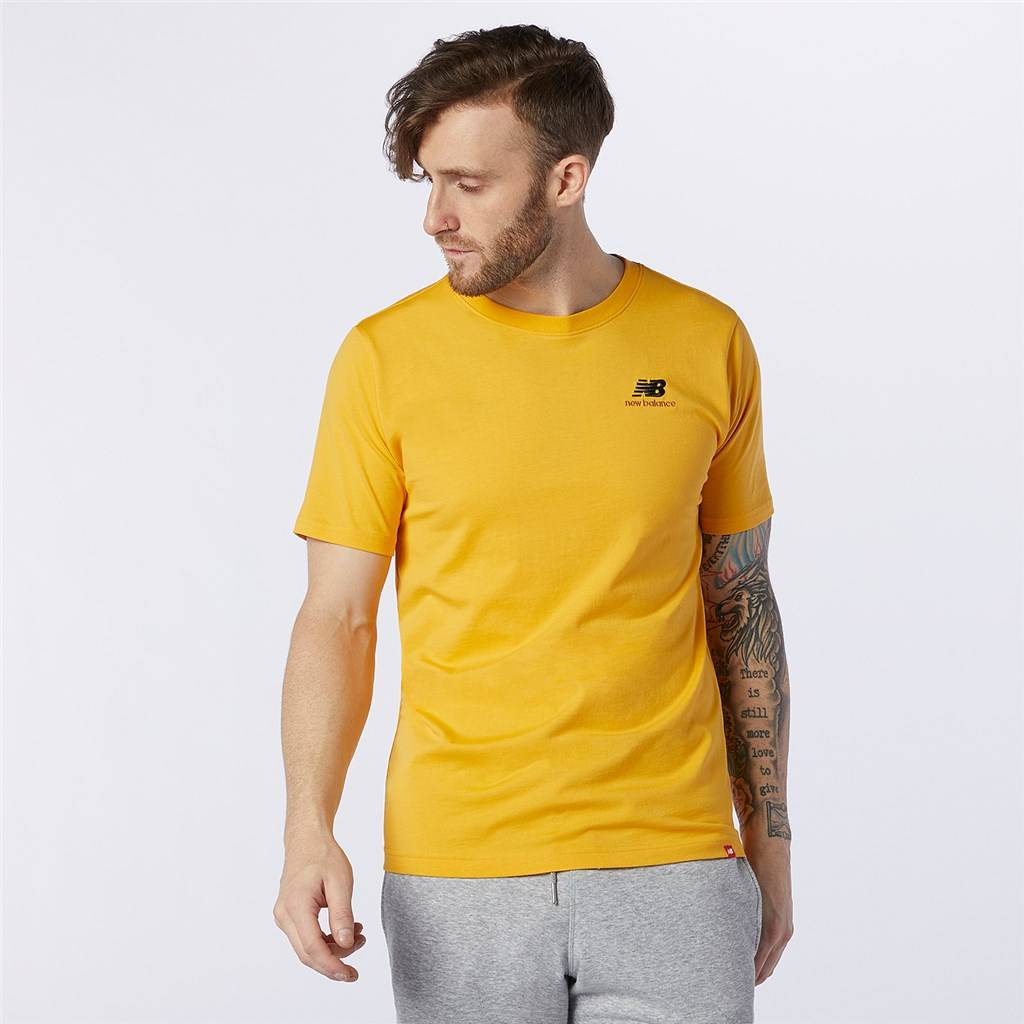 New Balance - NB Essentials Embroidered Tee - aspen