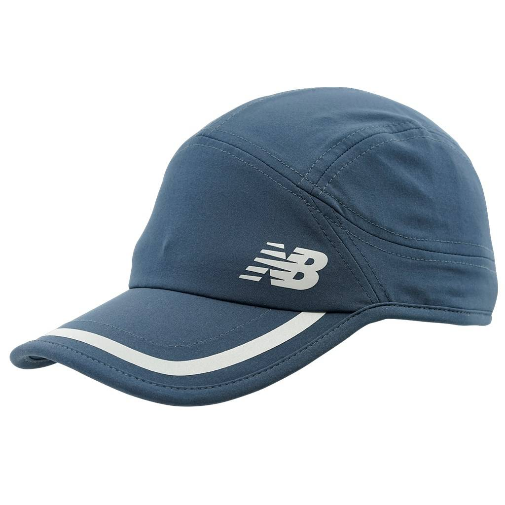 New Balance - NBF - Team Pre Season Running Cap - chambray/silver