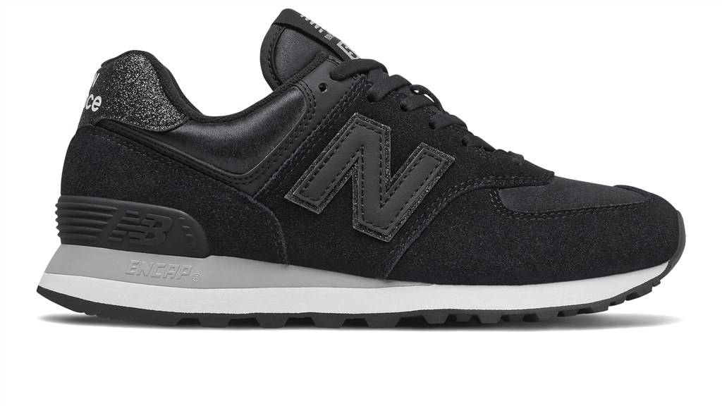 New Balance - WL574FH2 - black/grey