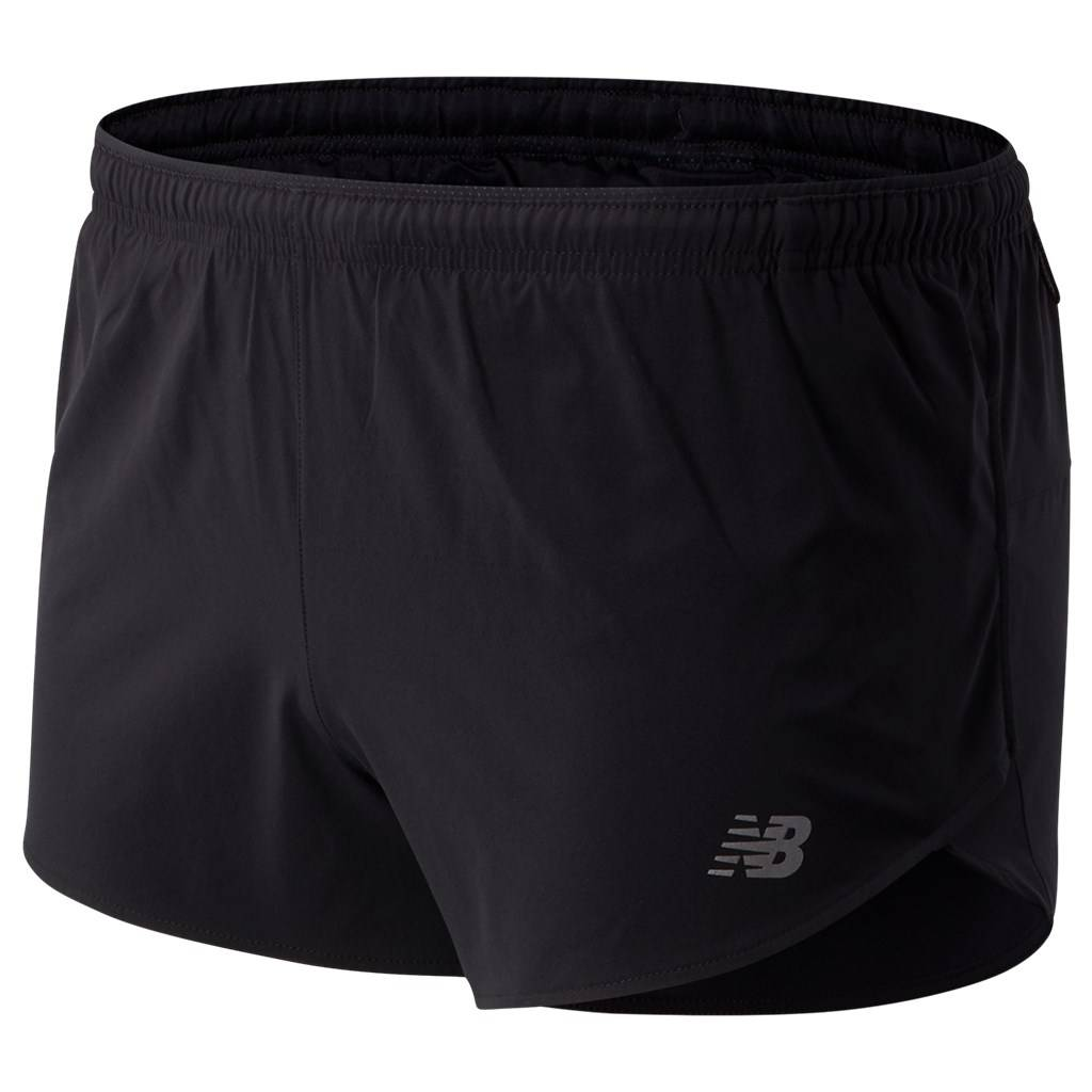 New Balance - Impact Run 3In Split Short - black