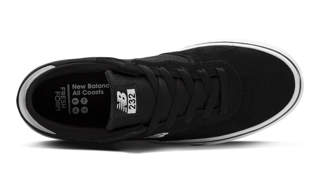 New Balance - AM232BHW - black/white