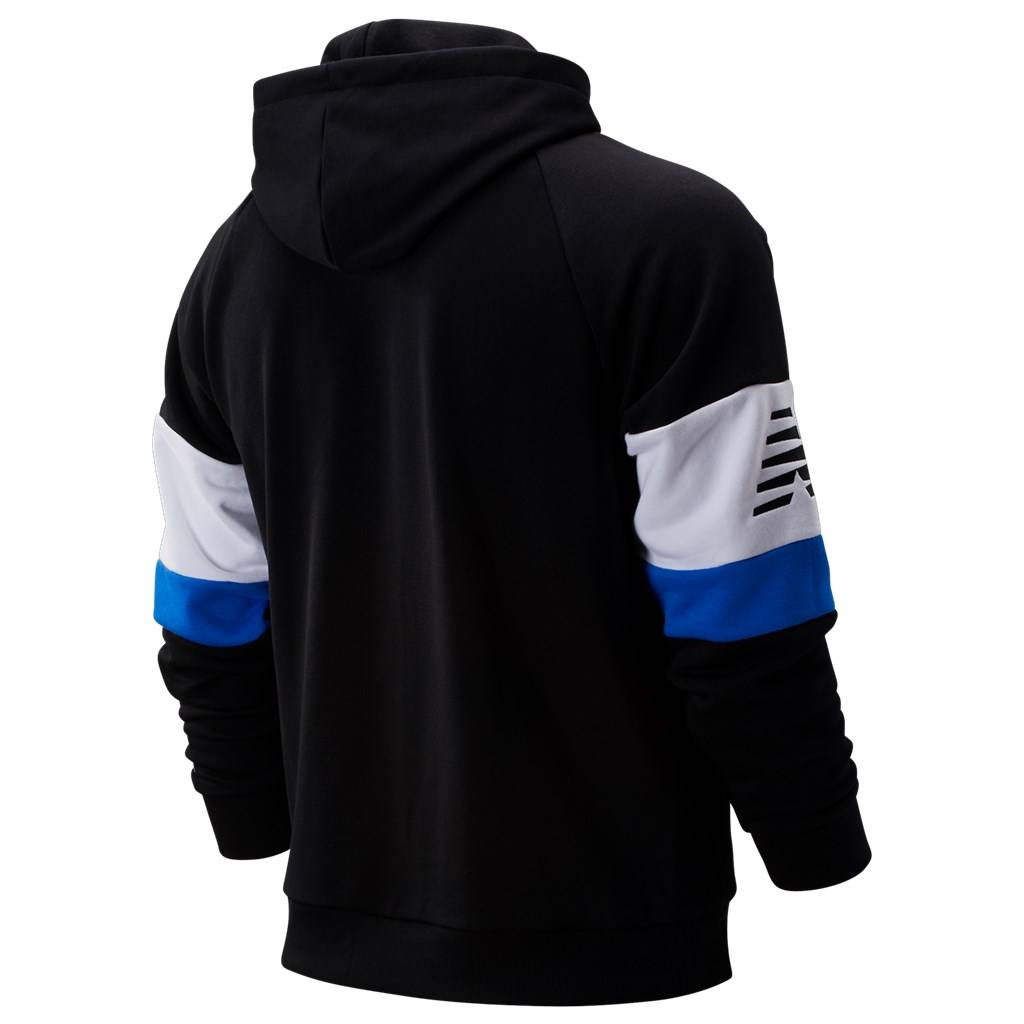 New Balance - NB  Athletics Classic Hoodie - black/white