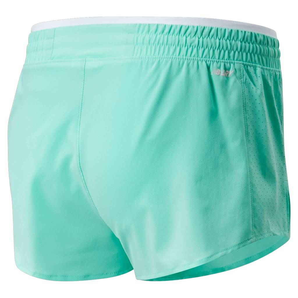 New Balance - W Fast Flight Split Short - neo mint