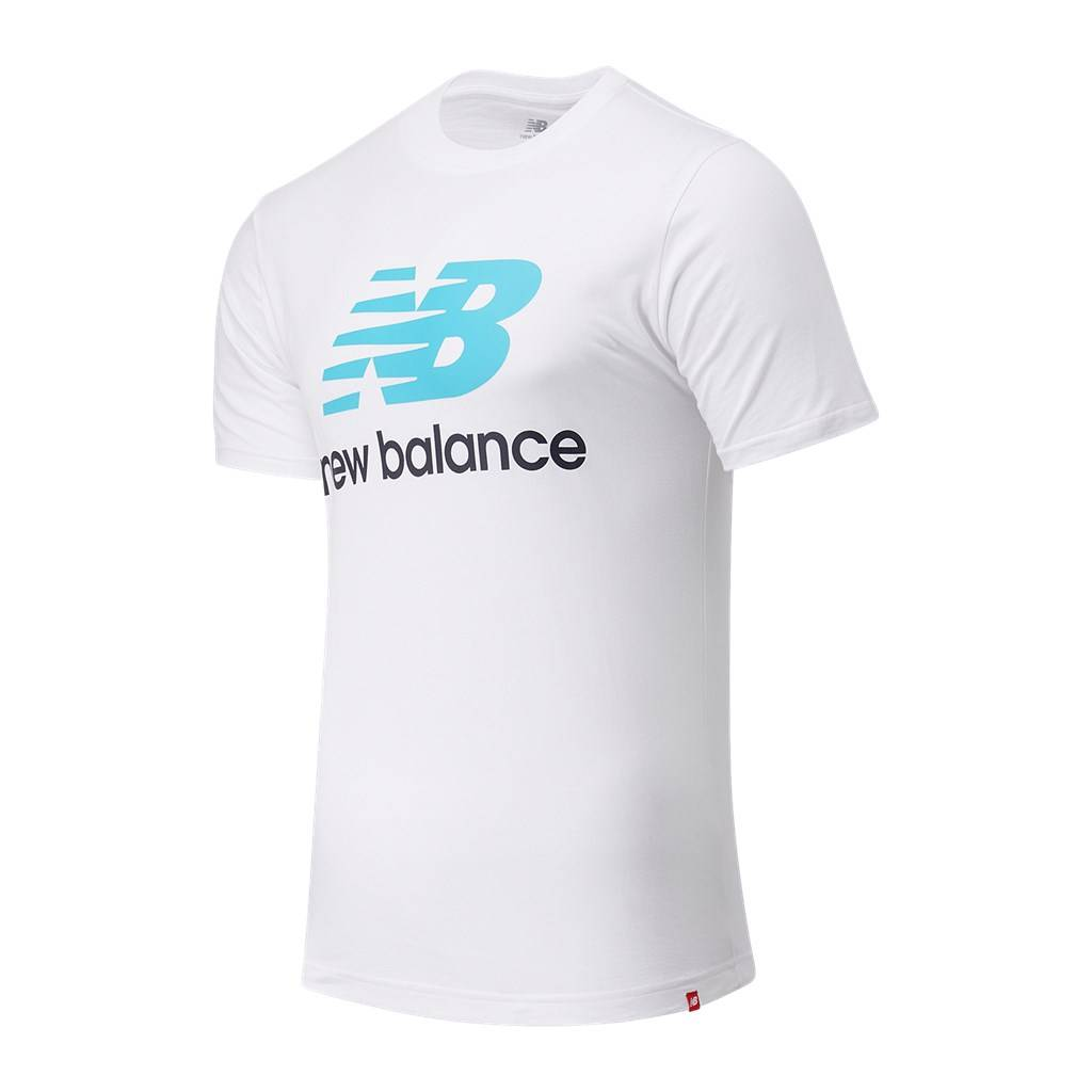 New Balance - Essentials Stacked Logo T - virtual sky