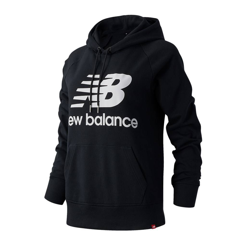 New Balance - W Essentials Pullover Hoodie - black