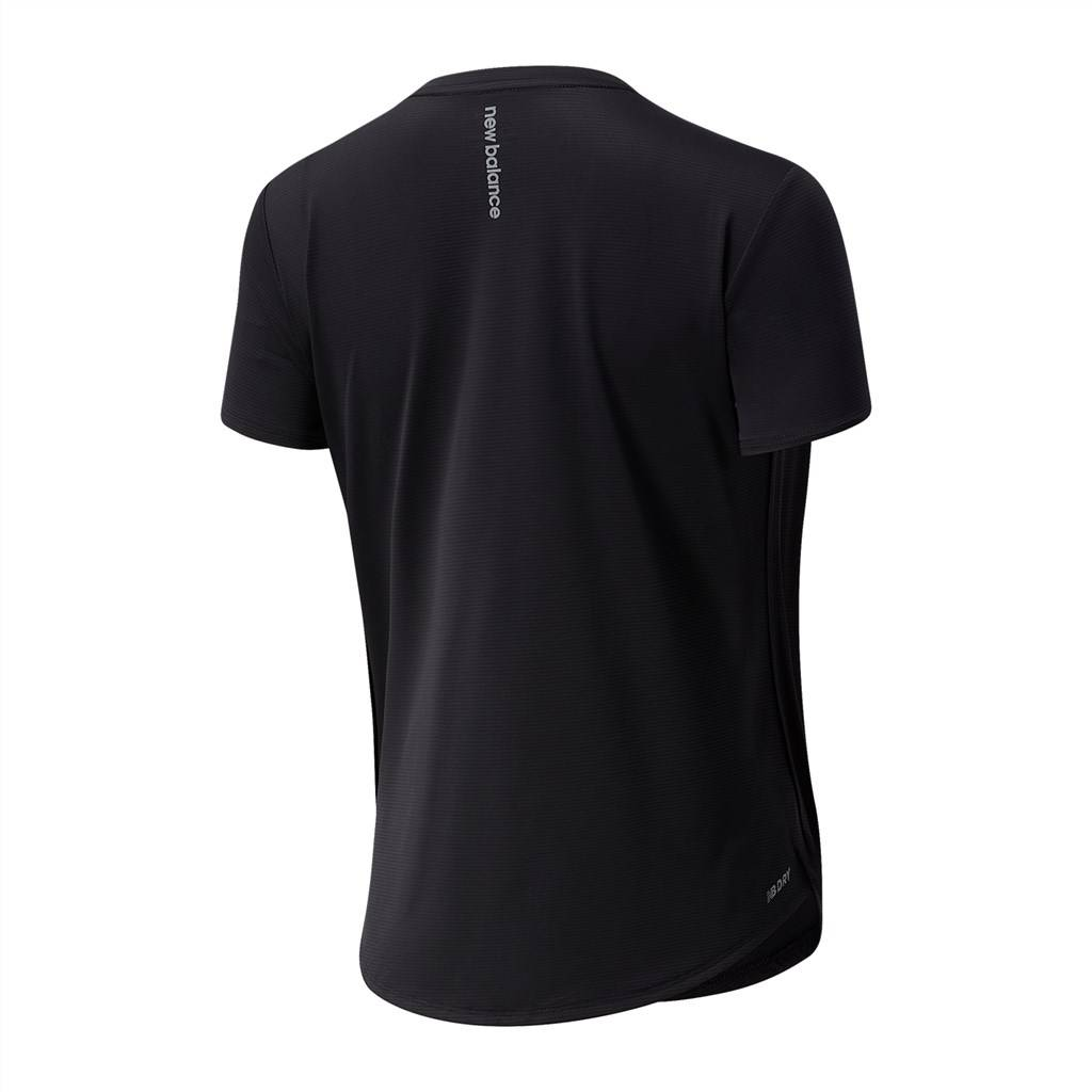 New Balance - W Accelerate Short Sleeve - black