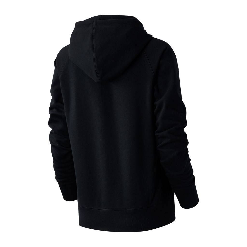 New Balance - W Essentials FZ Hoodie - black