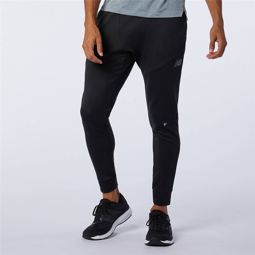 New Balance - Q Speed Run Pant - black heather