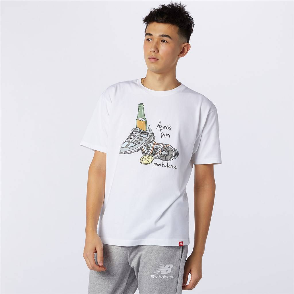 New Balance - NB Essentials Victory Tee - white