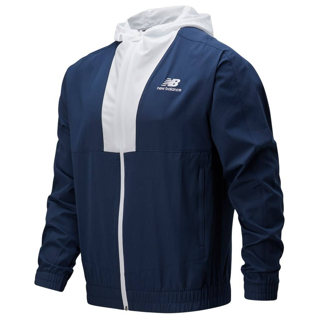 New Balance - NB Athletics Full Zip Windbreaker - natural indigo