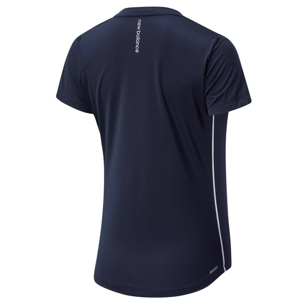 New Balance - W Accelerate Short Sleeve - eclipse