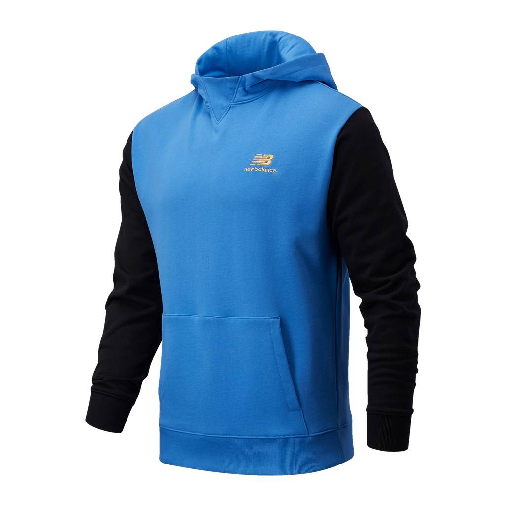New Balance - NB Athletics Village Fleece Pullover - faded cobalt