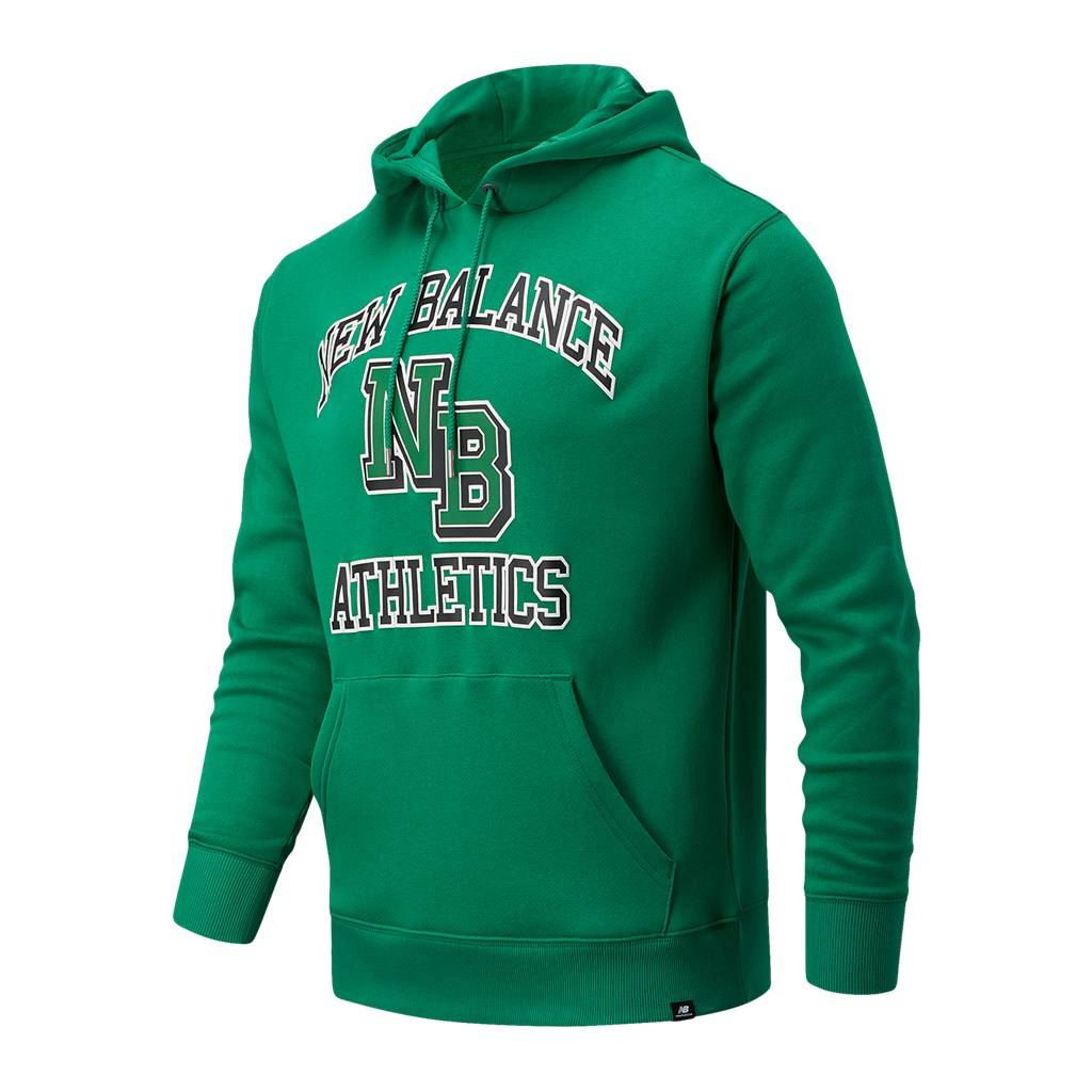 New Balance - NB Athletics Varsity Pack Hoodie - varsity green