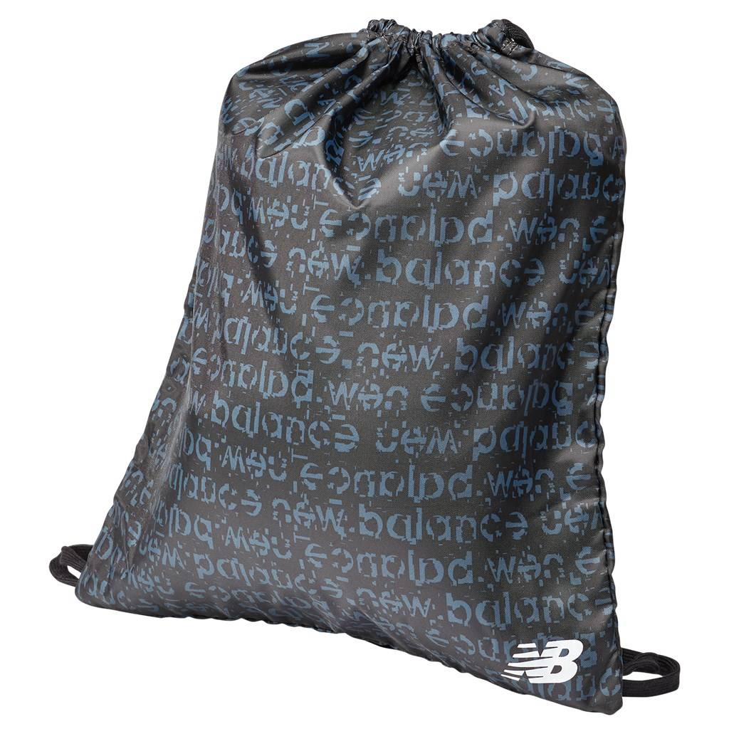 New Balance - Graphic Cinch Sack Aop - black multi