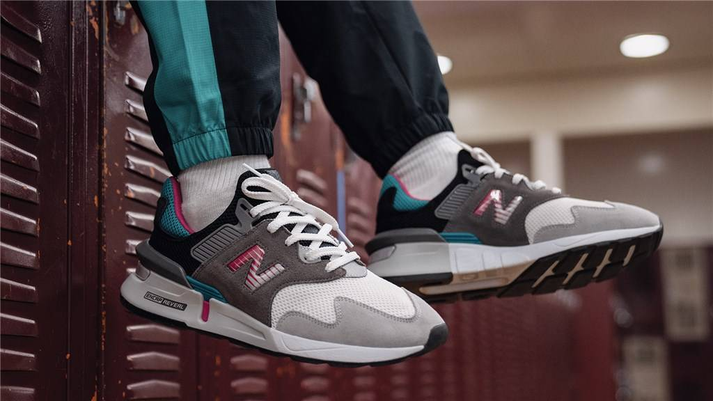 New Balance - MS997JCF - grey/green