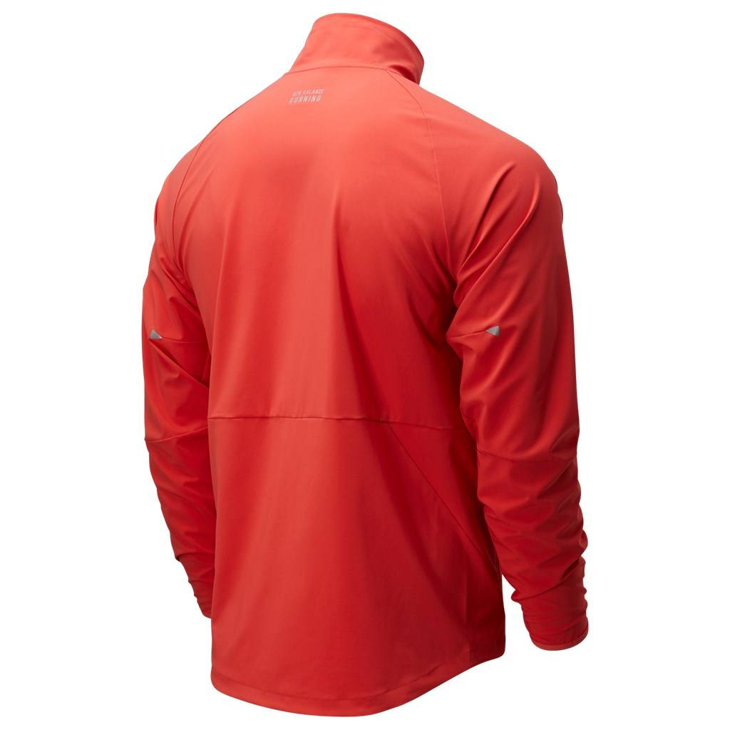 New Balance - Impact Run Jacket - toro red