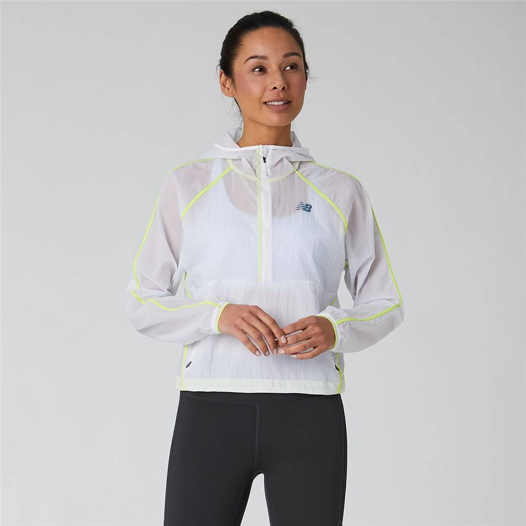 New Balance - W Q Speed Breathe Anorak - white