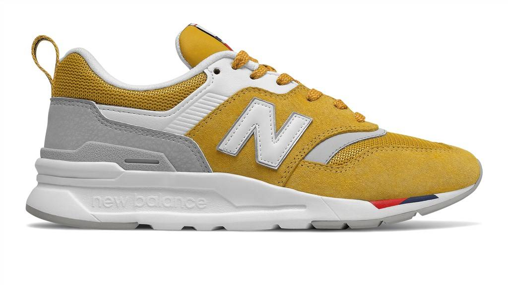 New Balance - CW997HAF - yellow/red
