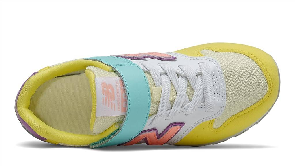 New Balance - YV996MYS - yellow/aqua