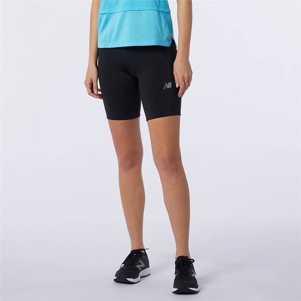 New Balance - W Impact Run Fitted Short - black