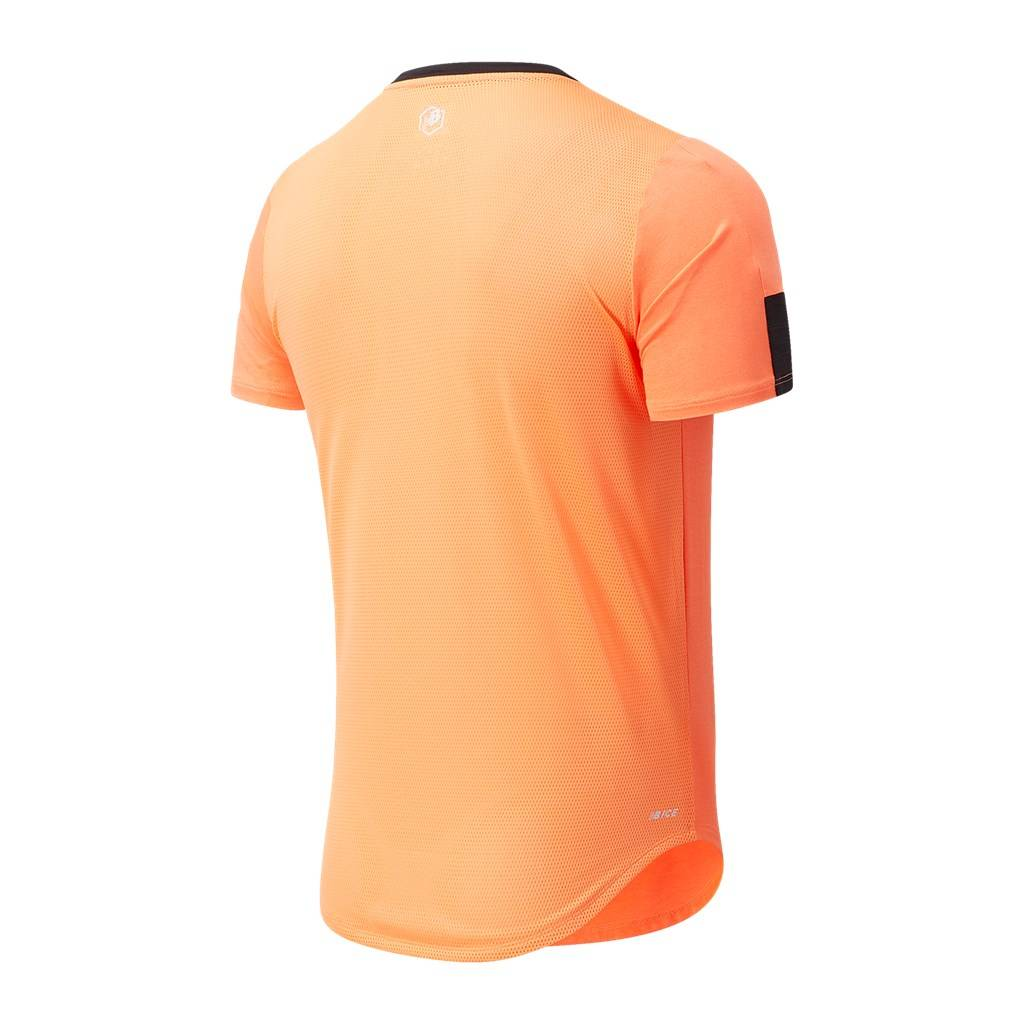New Balance - Fast Flight Short Sleeve - citrus punch heather
