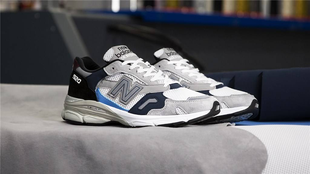 New Balance - M920NBR - grey/navy