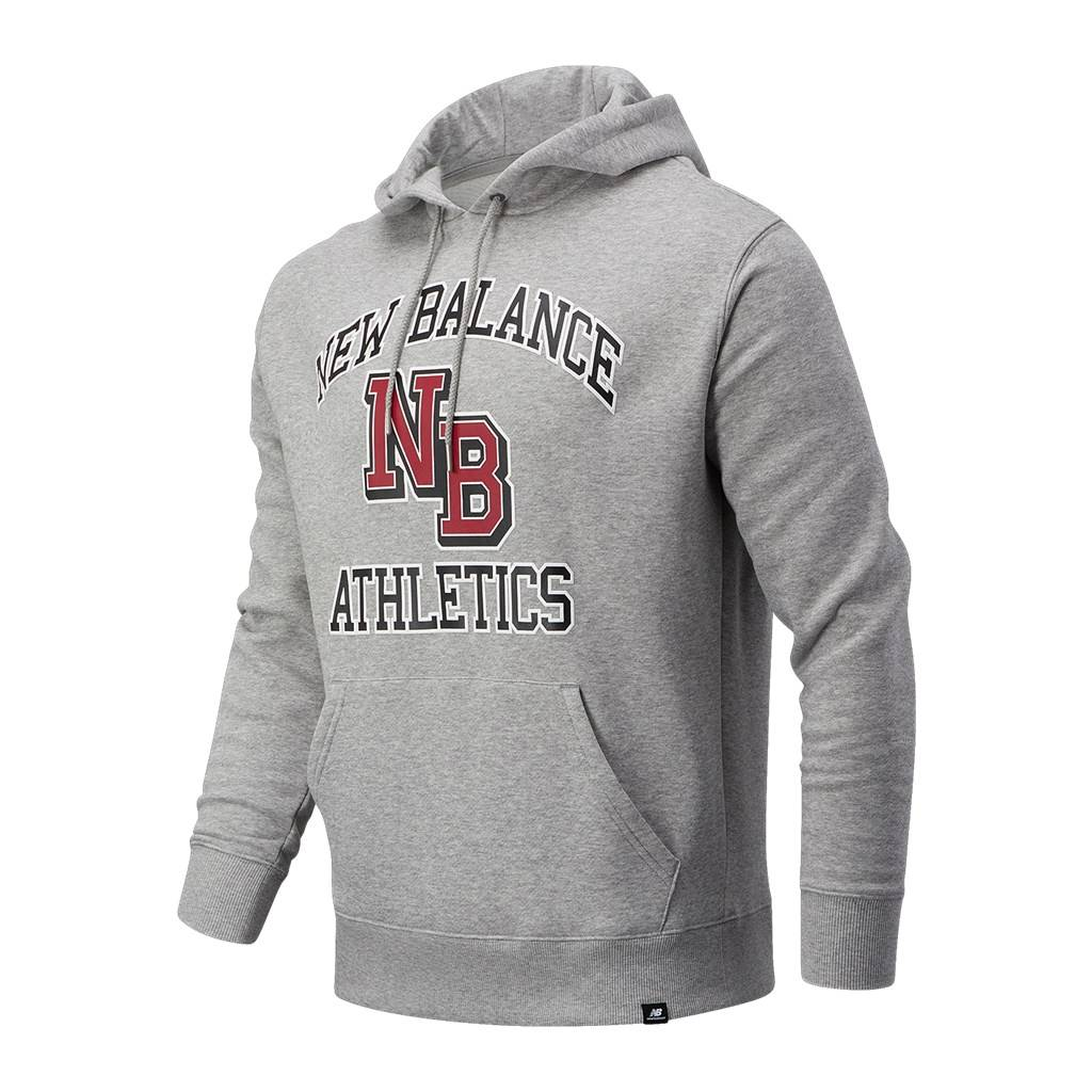 New Balance - NB Athletics Varsity Pack Hoodie - athletic grey