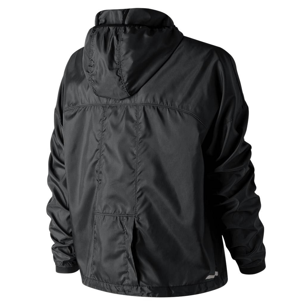 New Balance - W Light Packjacket - black