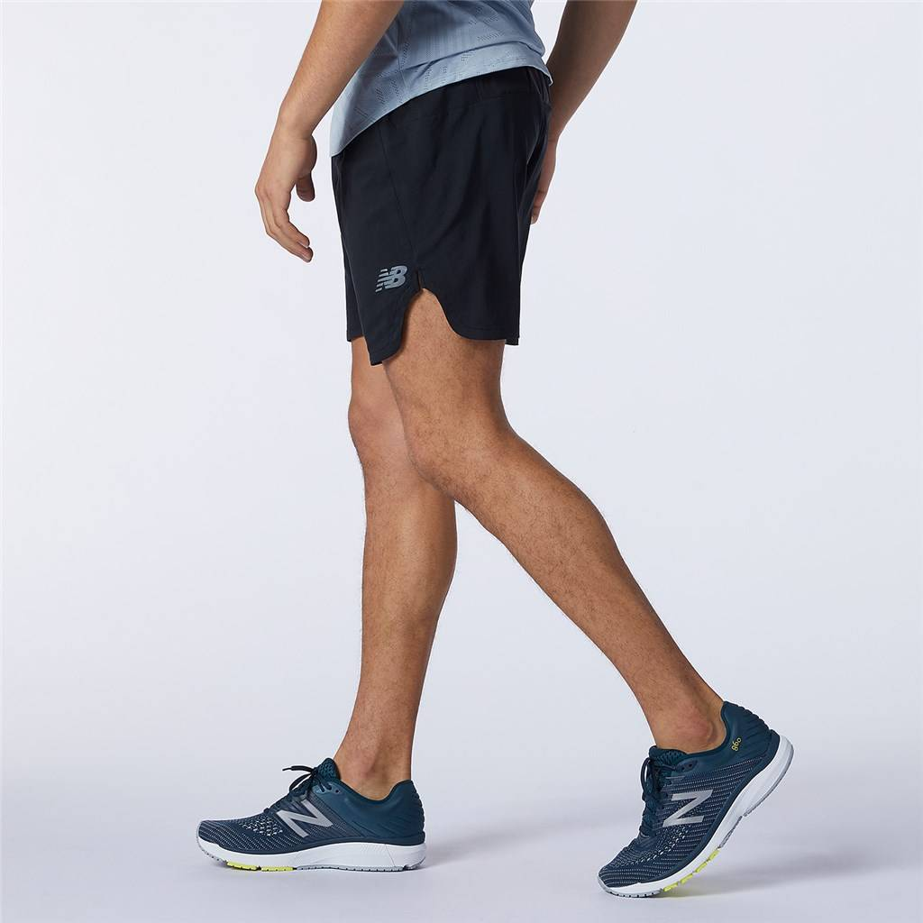 New Balance - Q Speed Fuel 7 Inch Short - black