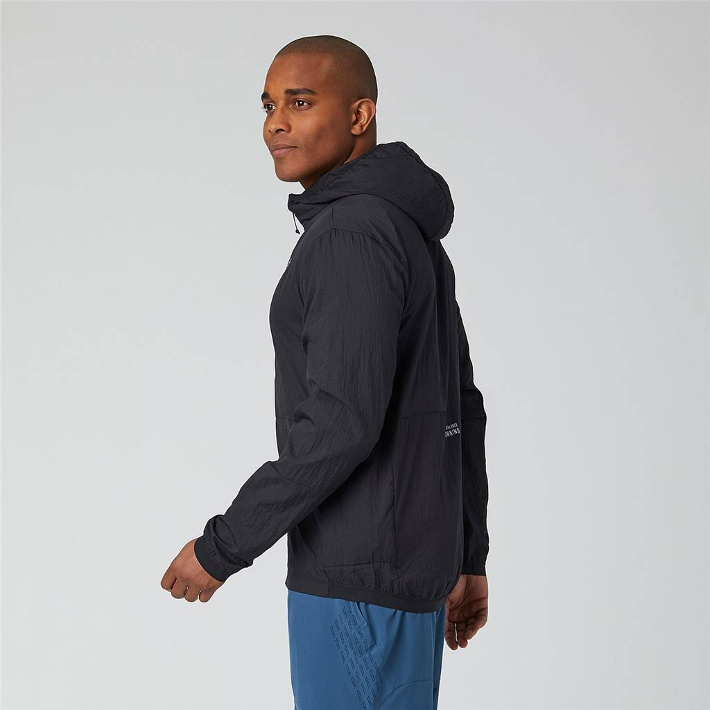 New Balance - Impact Run Light Pack Jacket - black