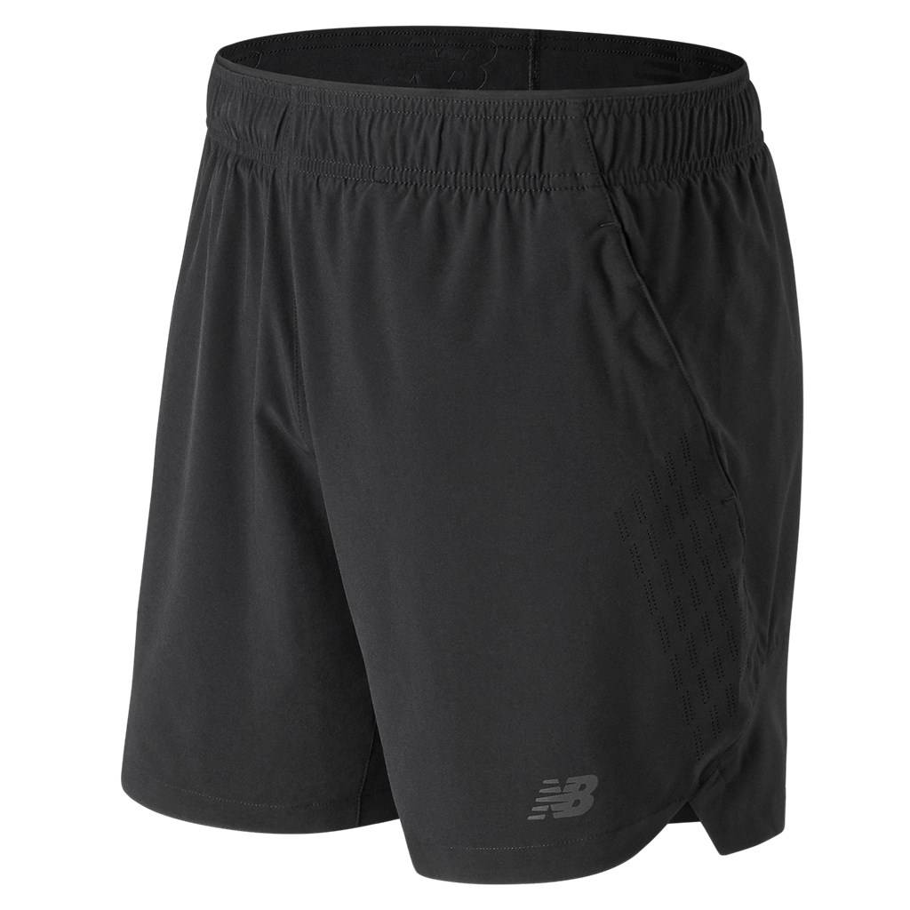 New Balance - 7In 2In1 Short - black